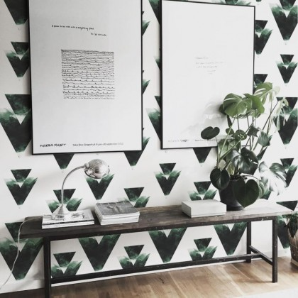 triangles-green-composition