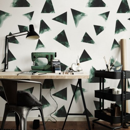 triangles-green-simple
